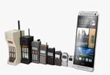 Le téléphone portable en 40 ans