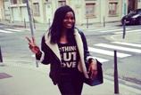 La jeune mannequin Aninha défile au Fashion week pour retrouver sa famille en Angola