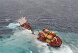 Deux bateaux se sont échoués en Grande Bretagne