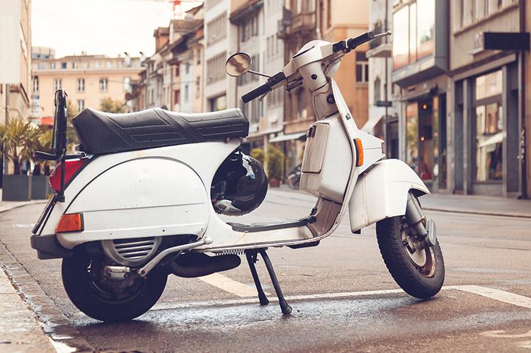 Aussurance scooter